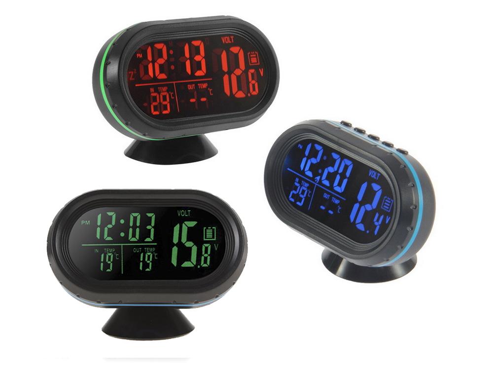 Часы термометр вольтметр 159