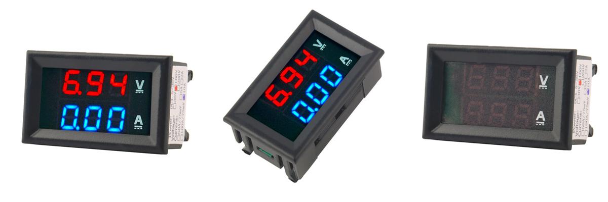 Цифровой вольтметр-амперметр